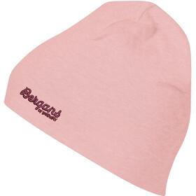 Bergans Bawełniana czapka Dzieci, peach pink